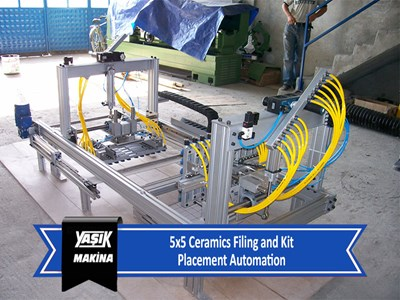 5x5 Ceramics Filing and Kit Placement Automation