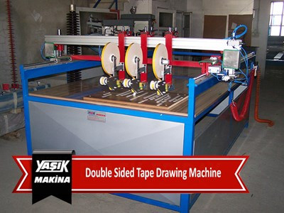 Double Sided Tape Drawing Machine