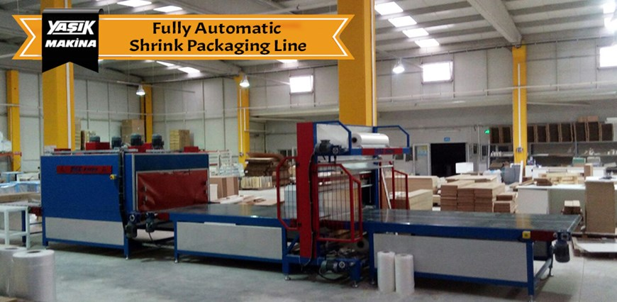 Fully Automatic Shrink Packaging Line
