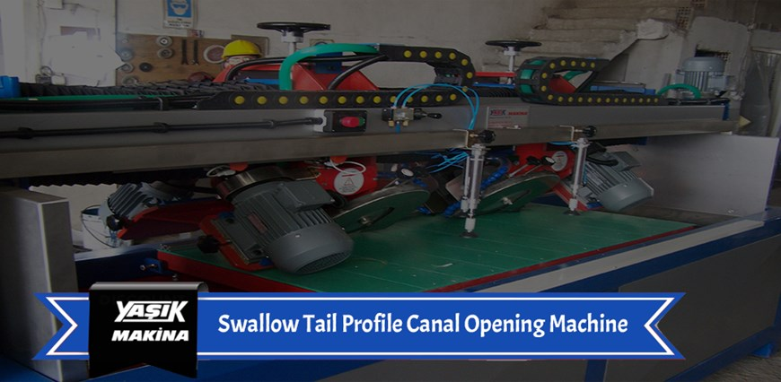 Swallow Tail Profile Canal Opening Machine